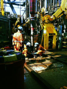 Drilling. Maersk Deliverer