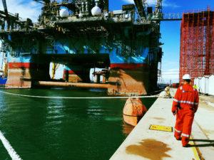 Maersk Deliverer in Port Elizabeth