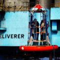 Crew change, Maersk Deliverer